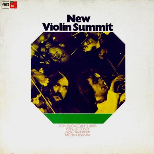 2LP - Sugar Cane Harris, J. L. Ponty, Nipso Brantner & Michal Urbaniak New Violin Summit