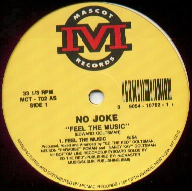12inch - No Joke Feel The Music