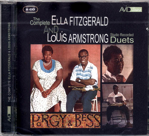 2CD - Fitzgerald, Ella & Louis Armstrong The Complete Studio Recorded Duets