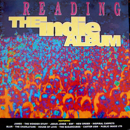 LP - Various Artists Reading - The Indie Album