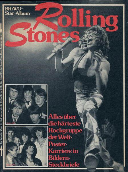 Memorabilia - Rolling Stones BRAVO-Star-Album