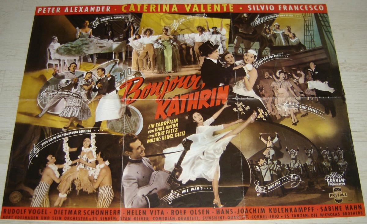 Memorabilia - Valente, Caterina Bonjour Kathrin - Poster