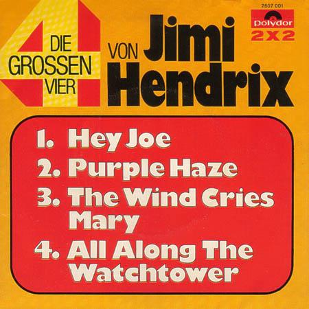 7inch - Hendrix, Jimi Die Grossen Vier Von Jimi Hendrix