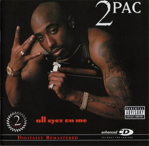 2CD - 2Pac All Eyez On Me