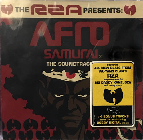 CD - Various Artists The RZA Presents: Afro Samurai