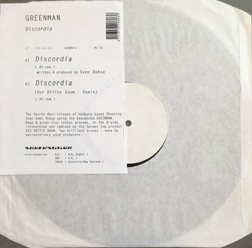 12inch - Greenman Discordia