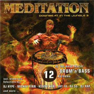 CD - Various Artists Meditation - Downbeat In The Jungle 3