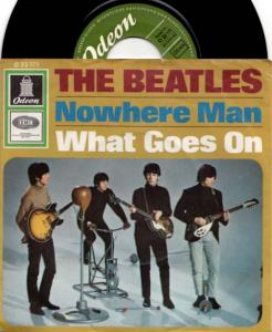 7inch - Beatles Nowhere Man / What Goes On