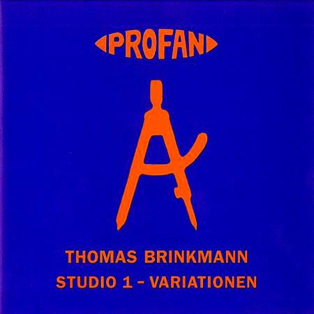 CD - Brinkmann, Thomas Studio 1 - Variationen