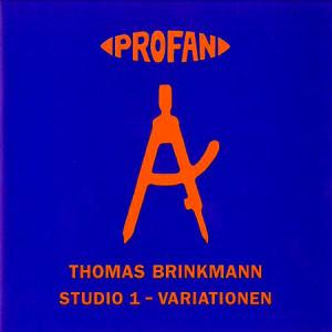 CD - Brinkmann, Thomas Studio 1 - Variationen
