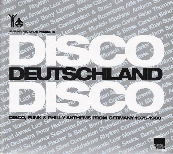 CD - Various Artists Disco Deutschland Disco