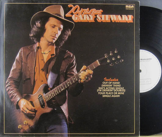 LP - Stewart, Gary 20 Of The Best Gary Stewart