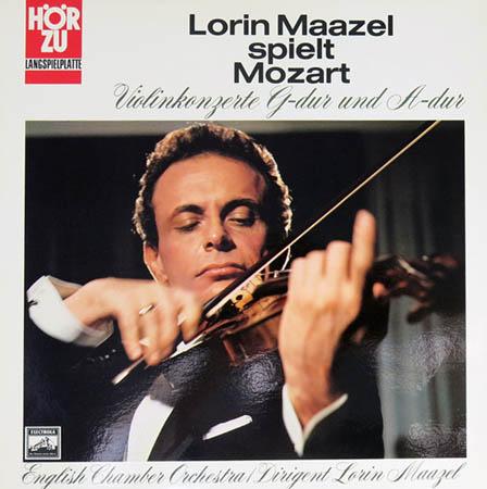 LP - Mozart, Wolfgang Amadeus Lorin Maazel Spielt Mozart