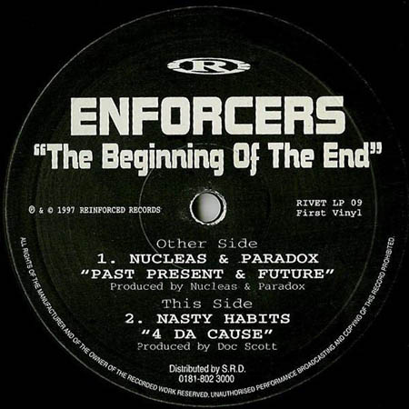 12inch - Nucleas & Paradox / Nasty Habits Enforcers - The Beginning Of The End