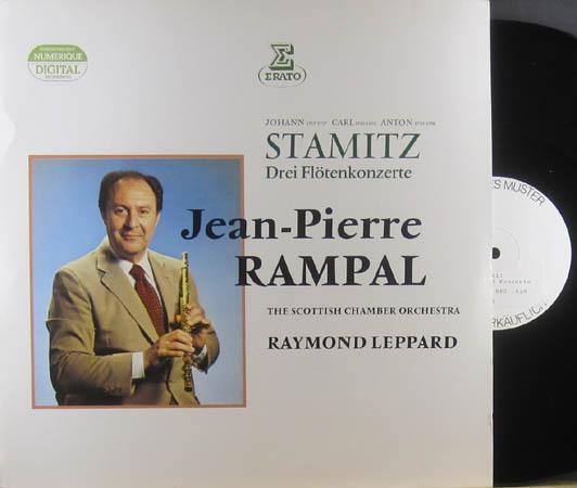 LP - Stamitz, Carl / Johann Stamitz / Anton Stamitz Drei Fl