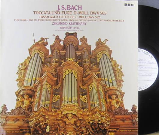 LP - Bach, Johann Sebastian Toccata and Fuge D-Moll