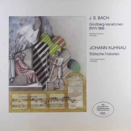 2LP - Bach, Johann Sebastian / Johann Huhnau Goldberg-Variationen / Die Biblischen Historien