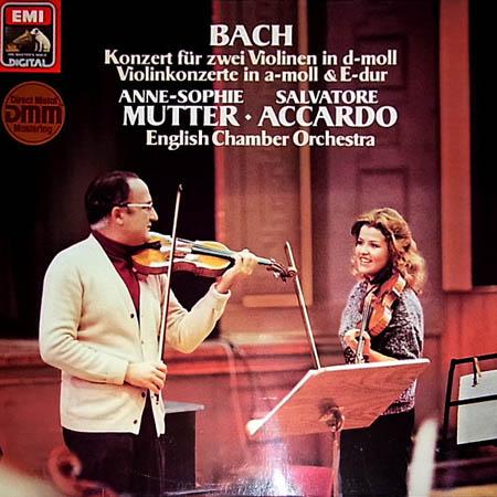 LP - Bach, Johann Sebastian Konzert F