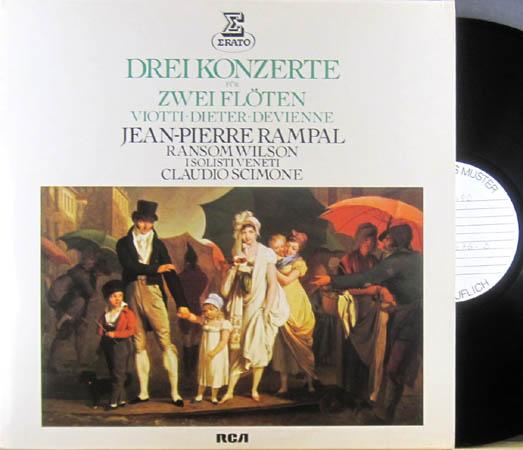 2LP - Viotti / Dieter / Devienne Drei Konzerte F