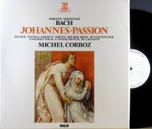 3LP - Bach, Johannes Sebastian Johannes-Passion