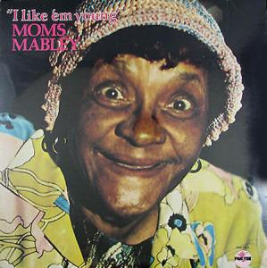 LP - Moms Mabley I Like 'em Young