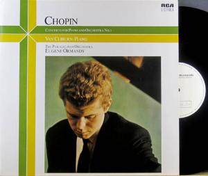 LP - Chopin, Frederic Concerto For Piano And Orchestra No. 1