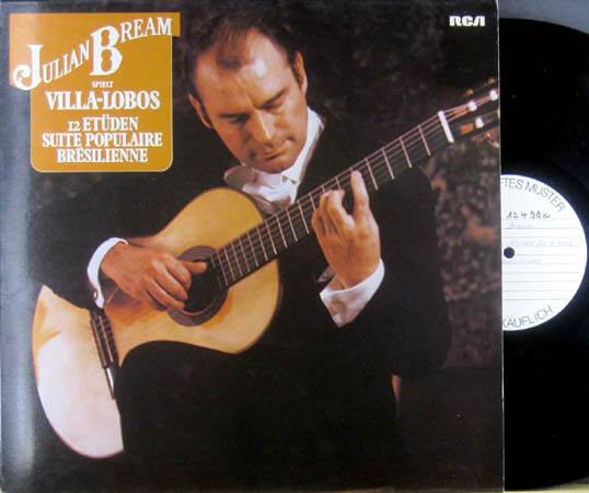 LP - Bream, Julian Spielt Villa-Lobos - 12 Et