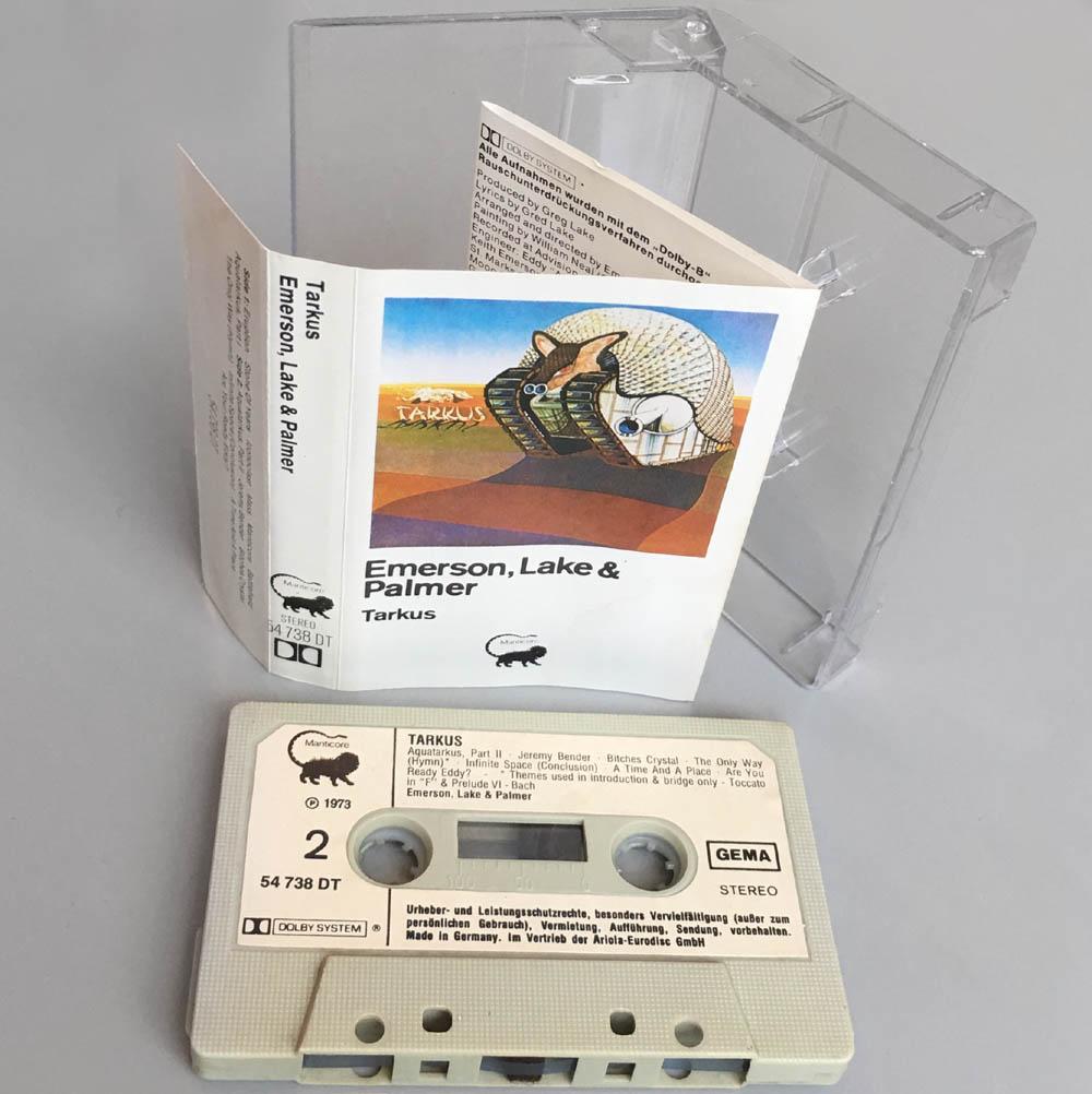 Cassette - Emerson, Lake & Palmer Tarkus