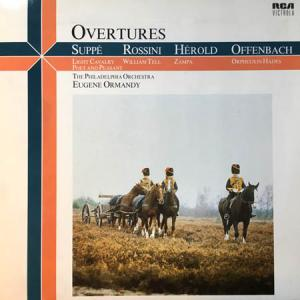 LP - Suppe / Rossini / Herold / Offenbach Overtures