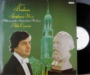 LP - Brahms, Johannes Symphonie Nr. 2