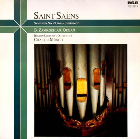 LP - Saint-Saens, Camille Symphony No. 3