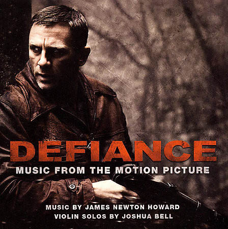 CD - Soundtrack by James Newton Howard ‎ Defiance - Music From The Motion Picture
