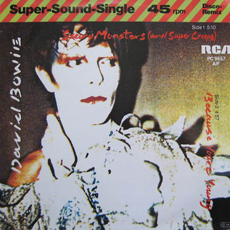 12inch - Bowie, David Scary Monsters And Super Creeps / Because You're Young