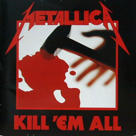 LP - Metallica Kill 'Em All