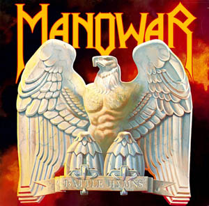 LP - Manowar Battle Hymns