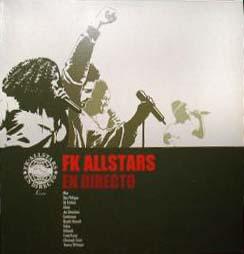 2LP - FK Allstars En Directo - ltd Edition 0