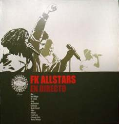 2LP - FK Allstars En Directo - ltd Edition