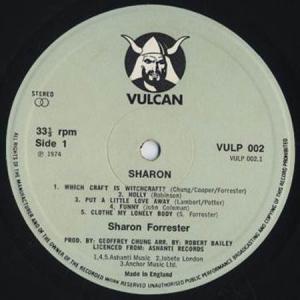 LP - Forrester, Sharon Sharon