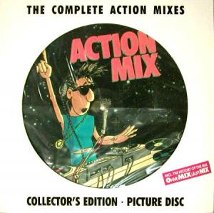 LP - Various Artists The Complete Action Mixes Collector's Edition