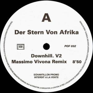 12inch - Der Stern Von Afrika Downhill V.2 / Nomo Butu