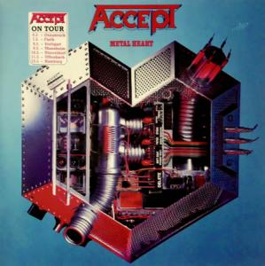 LP - Accept Metal Heart