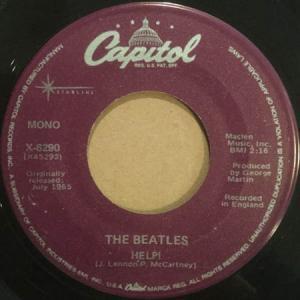 7inch - Beatles Help