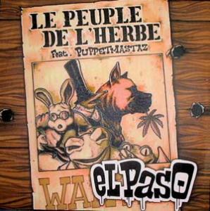 12inch - Le Peuple De L'Herbe Feat. Puppetmastaz El Paso