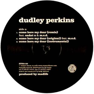 12inch - Dudley Perkins Come Here My Dear / All For You