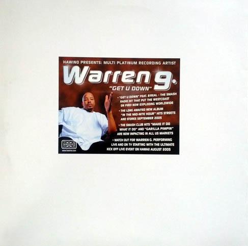 12inch - Warren G feat. B Real Get U Down 0
