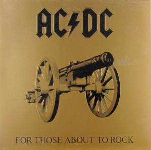 LP - AC/DC For Those About To Rock