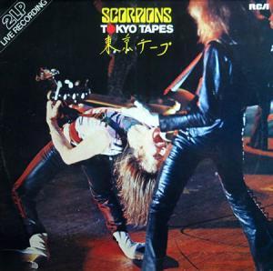 2LP - Scorpions Tokyo Tapes