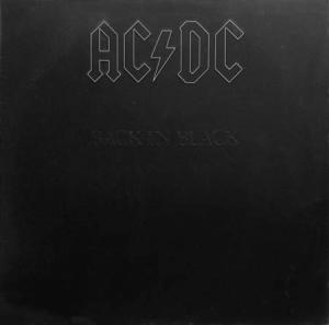 LP - AC/DC Back In Black