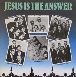 LP - Various Artists Jesus Is The Answer