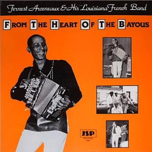 LP - Fernest Arceneaux & His Louisiana French Band From The Heart Of The Bayous